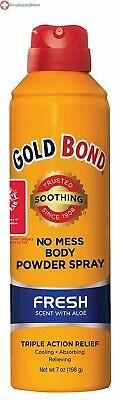 Gold Bond No Mess Spray Powder Fresh 7 oz