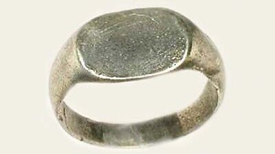AD200 Genuine Ancient Roman Provincial Thrace (Bulgaria) Silver Ring Size 6¼