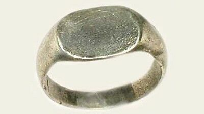 Roman Silver Ring Genuine Ancient Provincial Thrace (Bulgaria) AD200 Size 6¼