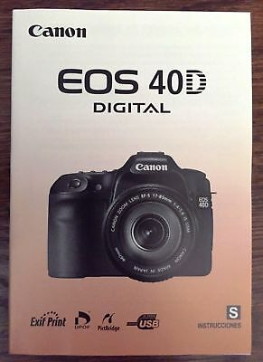 canon genuine eos 400d xti digital camera instruction book rh picclick com canon xti user manual canon rebel xt user manual pdf