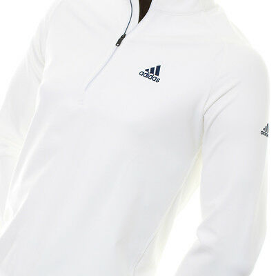 adidas Golf Club Longsleeve Zip Sweatshirt Herren Langarm Shirt UV PROTECTION