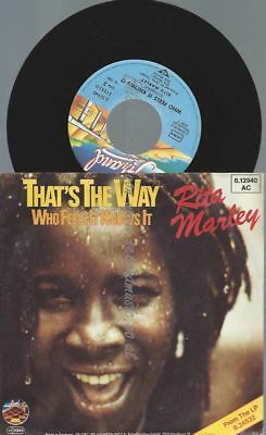 "7""  Rita Marley ‎– That's The Way"