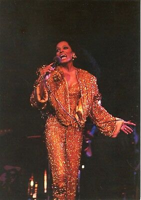 Postcard / Carte Postale / Chanteuse / Diana Ross