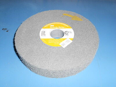 3M 01675 Scotchbrite Light Deburring Wheel 6X1X1 8S-Fine
