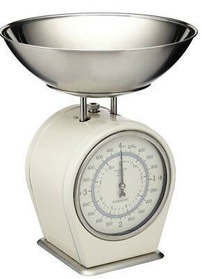 Kitchen Craft Living Nostalgia Mechanical Traditional 8lb Kitchen Scales & Pan