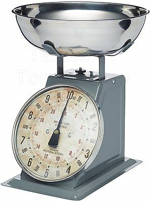 Kitchen Craft Industrial Range Mechanical Traditional 8lb Kitchen Scales & Pan