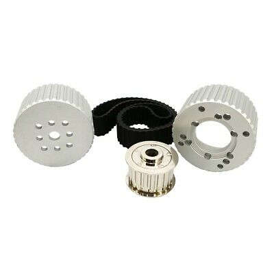 Small Block Chevy Gilmer Belt Drive Pulley Kit Short Water Pump Aluminum 350 400