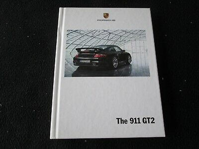 2009 2008 Porsche 911 GT2 Carrera Catalog 997 GT-2 HARDCOVER Sales Brochure