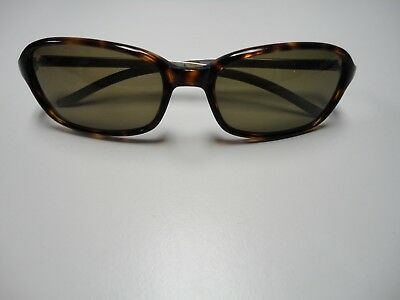 d0d2c4ecd4ee BURBERRY BY SAFILO Brown Tortoise Shell Plastic Metal Rectangle Sunglasses  B4332