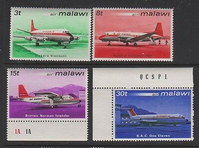 MALAWI 182-5 Airplanes 1972, mint