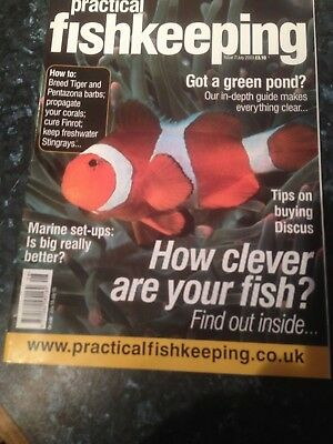 Practical Fishkeeping magazine July 2003 - Tips on Buying Discus