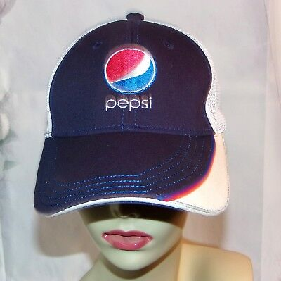 Pepsi Hat Pepsi Cola Embroidered Hat Employee Hat 90's Vintage