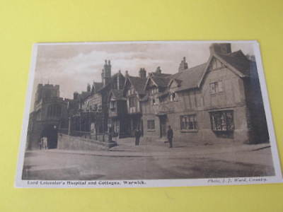 Lord Leicesters Hospital & Cottages Warwick UK Postcard