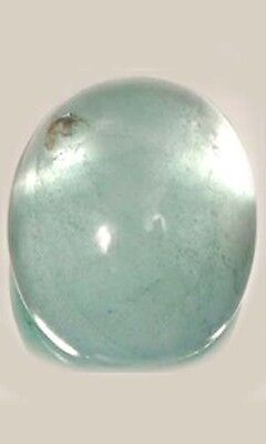 18thC 5¼ct Aquamarine Gem of Ancient Rome's God of Seas Neptune Sirens Mermaids