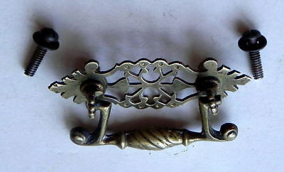 Antique Vintage Hardware 1 Solid Brass Unique Drawer Pull Aesthetic Style