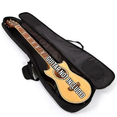 Lindo Black Padded Gig Bag for Voyager Electro-Acoustic Travel Guitar / Lapsteel
