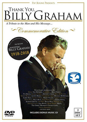 Thank You, Billy Graham: A Tribute to the Man and His Message DVD (2018) Billy