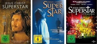 3 DVDs * JESUS CHRIST SUPERSTAR - KINOFILM/MUSICAL/ARENA TOUR IM SET # NEU OVP +