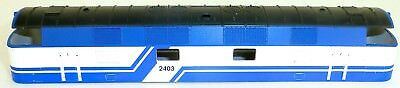 2403 Blue White Diesel Locomotive Case TT 1:120 SPARE Å