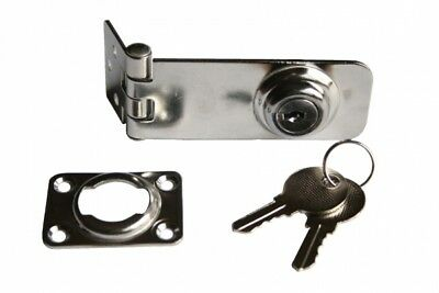 Lock Latch Case Lock with Key Stainless Steel 77mm Arbo-inox
