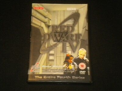 Red Dwarf IV - The Entire Fourth Series - BBC 2 DVDs - PAL REGIONS 2+4