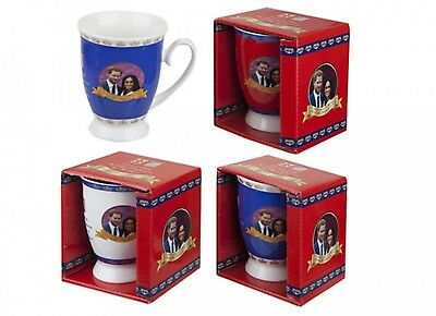 Royal Wedding Tulip Mug May 2018 Prince Harry Meghan Markle Souvenir Gift Cup