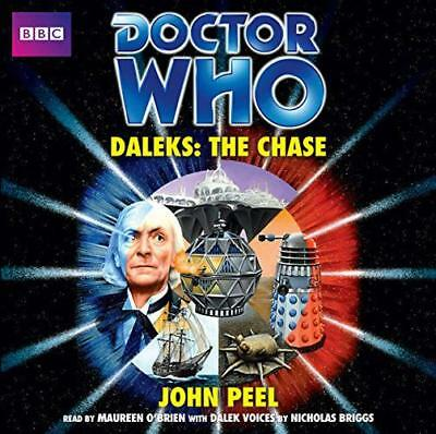 Doctor Who: Daleks - The Chase (Classic Novels) by John Peel | Audio CD Book | 9