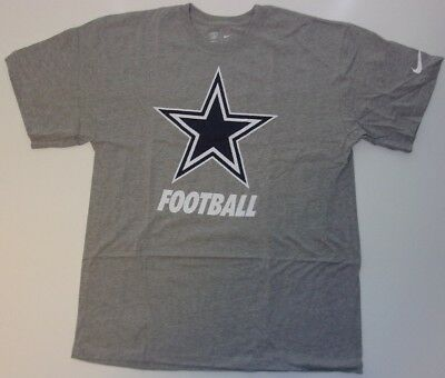 589db87e NEW NIKE DALLAS Cowboys NFL Equipment Football t-shirt men's Large L  Training