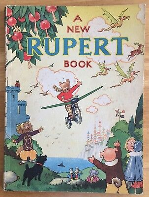 RUPERT ORIGINAL ANNUAL 1945 Not Inscribed Price Clipped VG PLUS