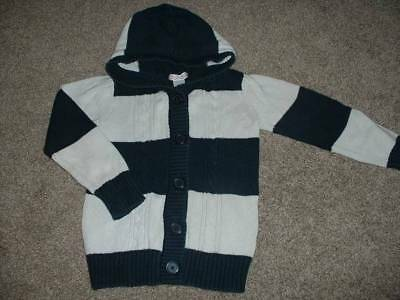 Old Navy Girls Toddler Lightweight Flyway Cardigan Blue Stripe Size 12-24 Mths Baby & Toddler Clothing Sweaters