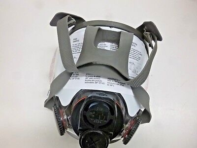 New!! 3M Full Face Piece Reusable Respirator, 6800Din