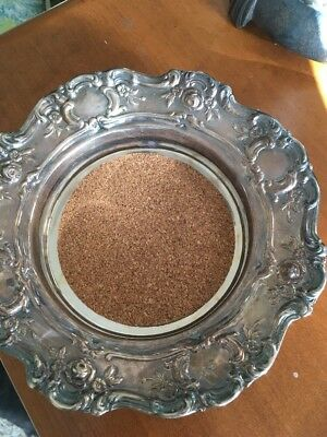 Vintage Towle Old Master Wine/Champagne Coaster Silver-plate -#4079