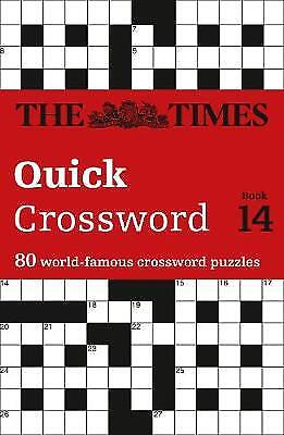 The Times Quick Crossword Book 14, The Times Mind Games