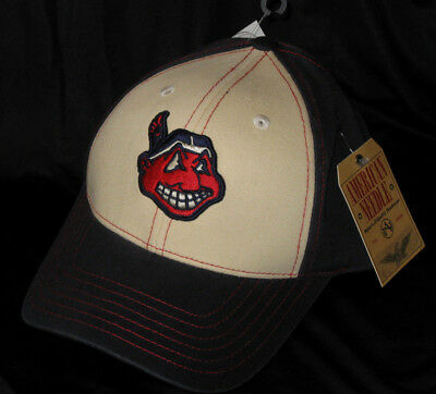 cf349f9c2e56d ... official store cleveland indians american needle retro 1948 chief wahoo  logo strapback hat nwt 671f0 f79e8