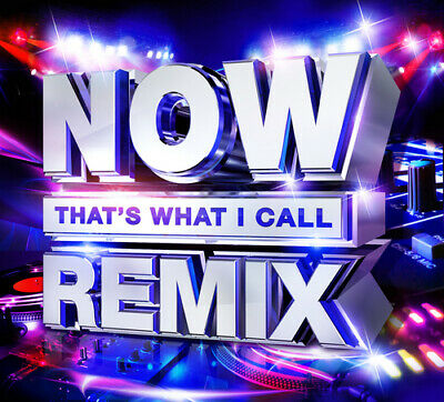 Various Artists : Now That's What I Call Remix CD 2 discs (2018) Amazing Value