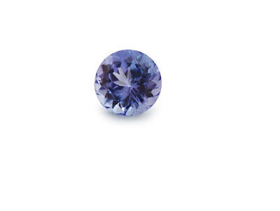 4 mm Round Fine Violet Blue Natural Sparkling Loose Tanzanite VS