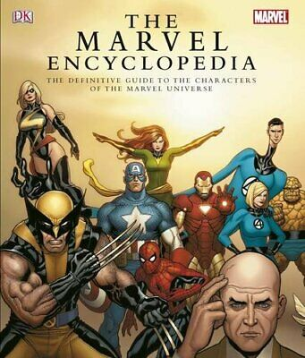 The Marvel Encyclopedia by Wallace, Daniel Hardback Book The Fast Free Shipping
