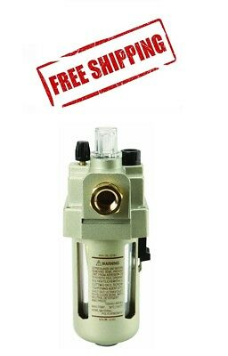 3/8 In Line OILER Flow LUBRICATOR Air Compressor Tools Fog Lubricator 3/8""