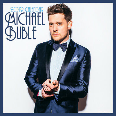 2019 Michael Buble Square Calendar Wall Calender
