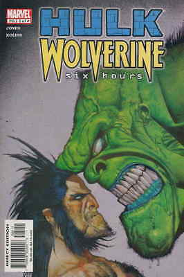 Hulk/Wolverine: Six Hours #2 VF/NM; Marvel | save on shipping - details inside