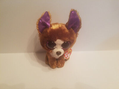 9f8c0767d3f Authentic Ty Beanie Boo DEXTER the Chihuahua 6 inch size New and Mint with  tags!