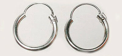 Quality Sterling 10mm Top Wire Hoops Ancient Athens Foundation Larium Macedonia