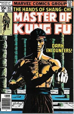 Master of Kung Fu Comic Book #67 Marvel Comics 1978 VERY FINE-