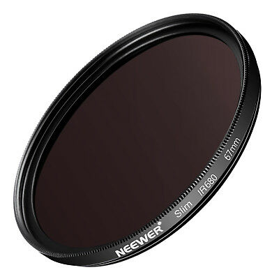 Neewer 67mm IR680 Infrared X-Ray Filter for Canon EOS Rebel T5i T4i T2i EOS 700D