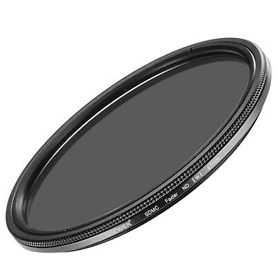 Neewer 67mm Ultra Slim ND2-ND400 Fader Neutral Density Adjustable Lens Filter #