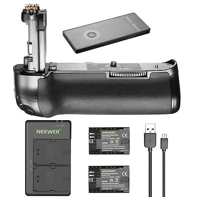 Neewer Wireless Battery Grip with 2 Batteries and Charger for Canon 5D Mark IV