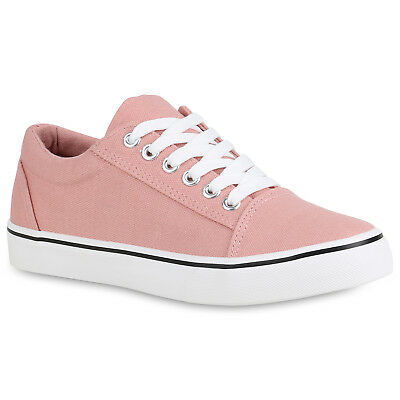 MUST-HAVE DAMEN SCHUHE 112827 SNEAKERS ROSA 38 STYLISCH