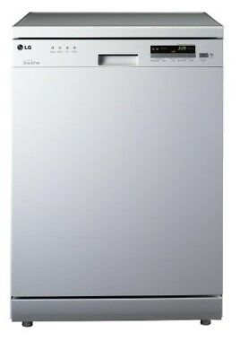 LG 14 Place Dishwasher with Inverter Direct Drive (White) (LD-1481W4)