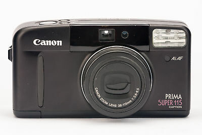 Canon Prima Super 115 Caption Kompaktkamera Kamera mit 38-115mm 3.6-8.5 Optik