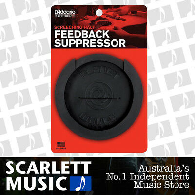 Planet Waves Screeching Halt Acoustic Guitar Anti-feedback Soundhole Cover
